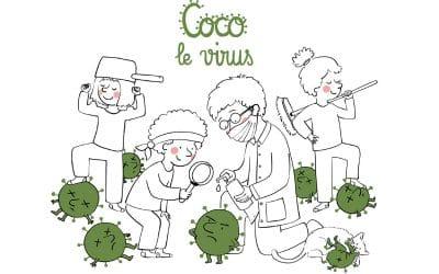 """Coco le Virus"" enfin disponible en librairie"